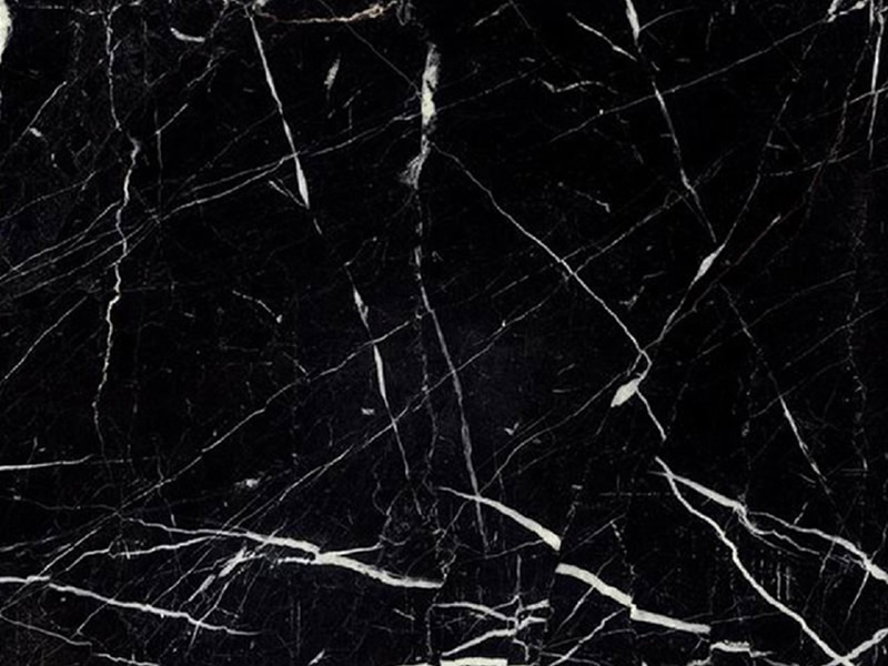 Negro marquina best way marble for Marmol negro marquina